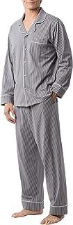 پنبه لباس خواب مردانه کلاسیک PajamaGram - ست لباس خواب مردانه