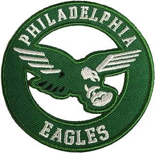 Philadelphia Eagles Vintage Embroidered Iron on Logo Patch 3x3
