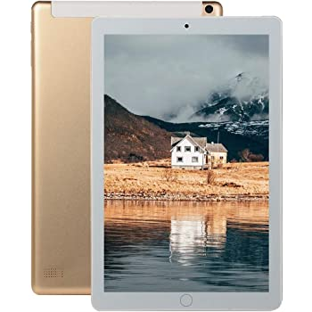 M-Fire Car Tablet PC, 10.1 inch, 2GB+32GB, Android 7.0 MTK6580 Quad Core(Gold) (Color : Gold)