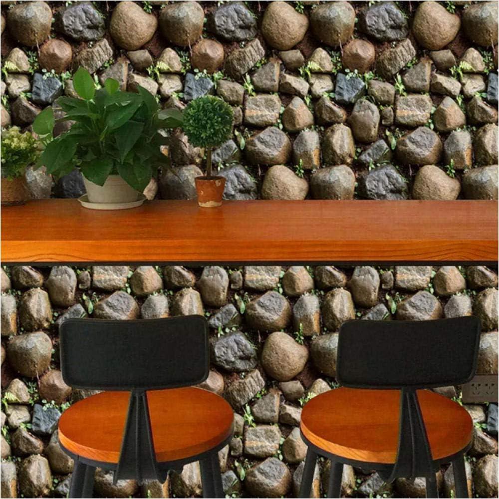 Custom Photo Wallpaper 3D Stereo Mural Liv Restaurant Cafe Max 72% OFF Stone Cheap bargain