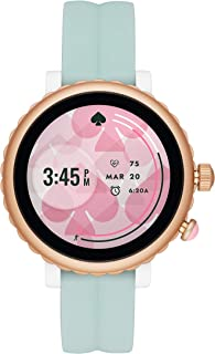 Women's Scallop 2 or Sport Stainless Steel Touchscreen Smartwatch with Heart Rate, GPS, Contactless Pay, and Smartphone Notifications