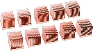 AlphaCool 17427 GPU RAM Copper Heatsinks 14x14mm - 10pcs Refrigeración por Aire Disipadores Pasivos