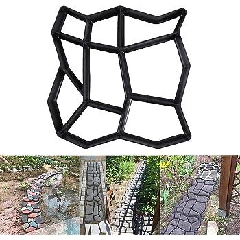 Set 2 pz Stampo pavimentazione giardino 42 x 42 x 4 cm