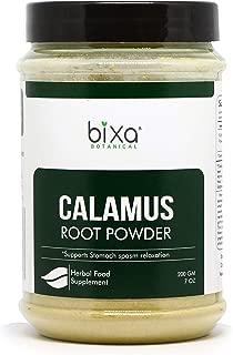 Calamus Root Powder (Acorus Calamus), Supports Stomach spasm Relaxation by Bixa Botanical - 7 Oz (200g)