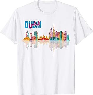 Dubai Skyline Burj Khalifa, United Arab Emirates UAE T-shirt