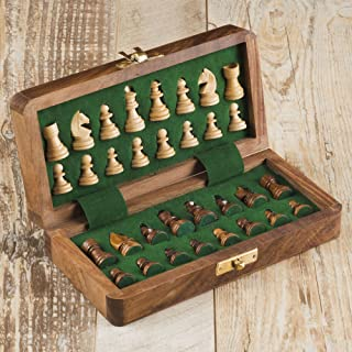 Rusticity Magnetic Chess Set with Foam  Handmade (10x10 in)