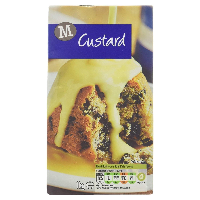 Morrisons Ready To Serve Custard 1kg