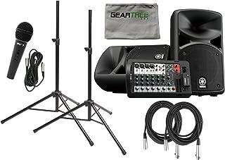 Yamaha STAGEPAS 400 BT 400-watt, Portable PA System (With Bluetooth) w/Cloth, M