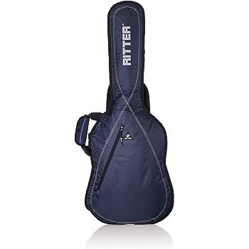 Ritter RGP2-E ELEC - Funda/estuche para guitarra electrica-bajo, con tejido repelente al agua, color azul: Amazon.es: Instrumentos musicales