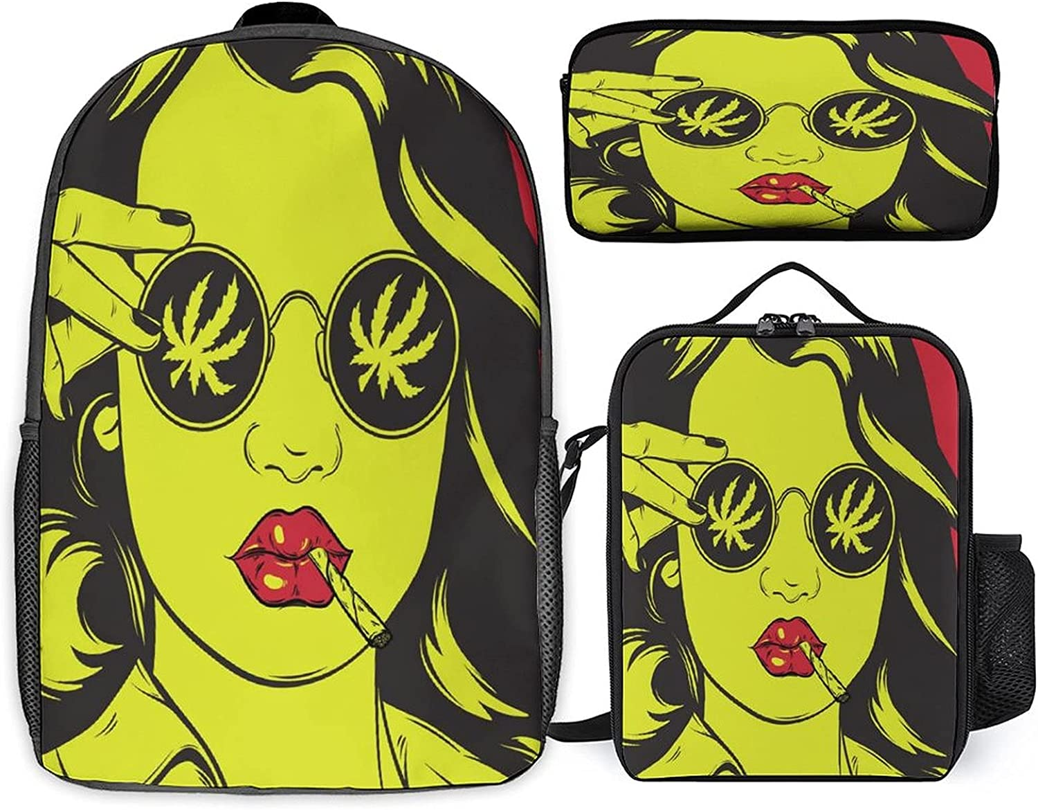 Stoner Art Three-piece set of Super popular Excellence specialty store schoolbag + st student