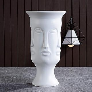 Jarrón para flores Arte de cerámica nórdico Florero Escultura Artesanía Humana Familia Flower Pot Flor Arreglo Casas Decor...