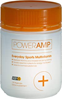PowerAmp Everyday Sports Multivitamin   High Potency for Endurance Sports   Informed-Sport Accredited