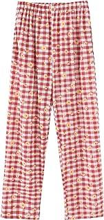 بناطيل صالة رياضية للنساء منقوشة نمط سروال داخلي قصير قطني وردي مقاس 4XL)