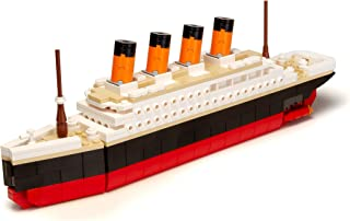 Brick Loot Titanic Building Bricks Set (Large 390 Pieces) 100% Compatible