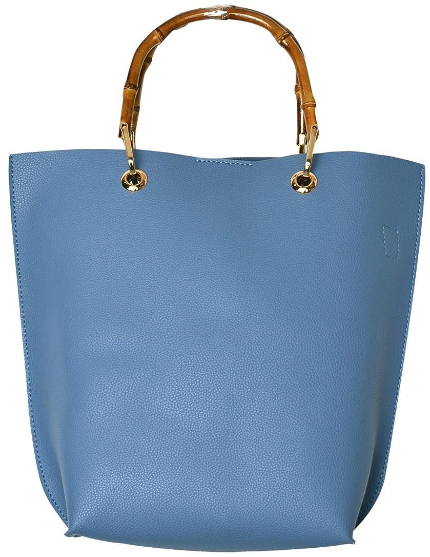 ペパーミント追記備品(カービーズ) curvy's ハンドバッグ ハンドバック ハンド バッグ カバン 鞄 バック bag バンブーハンドル バンブー ハンドル 2way