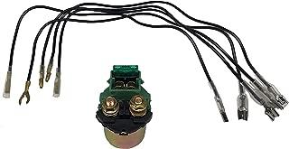 SHUmandala 35850-MB0-007 35850-425-017 35850-ME8-007 35850-MJ0-000 Starter Relay fit Honda GL500 GL650 GL1000 GL1200 GL1500 NT650 CBR600 CB900 CB700
