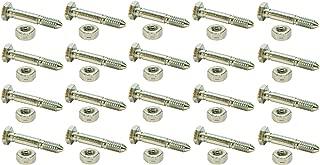 (20) SHEAR PINS / BOLTS 51001500, 510015, AM122156, AM136890, 13865, 7091550, 91550, 3285-11, 828d, 924de, 1032d, 1128de, 1128dde, 1332ddde