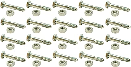 (20) SHEAR PINS / BOLTS 51001500, 510015, AM122156, AM136890, 13865, 7091550, 91550, 3285-11, 828d, 924de, 1032d, 1128de, 1128dde, 1332ddde
