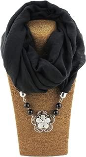 Fasbys Women's Scarves Unique Pendant Necklace Scarf Stylish JewelryScarfs for Women