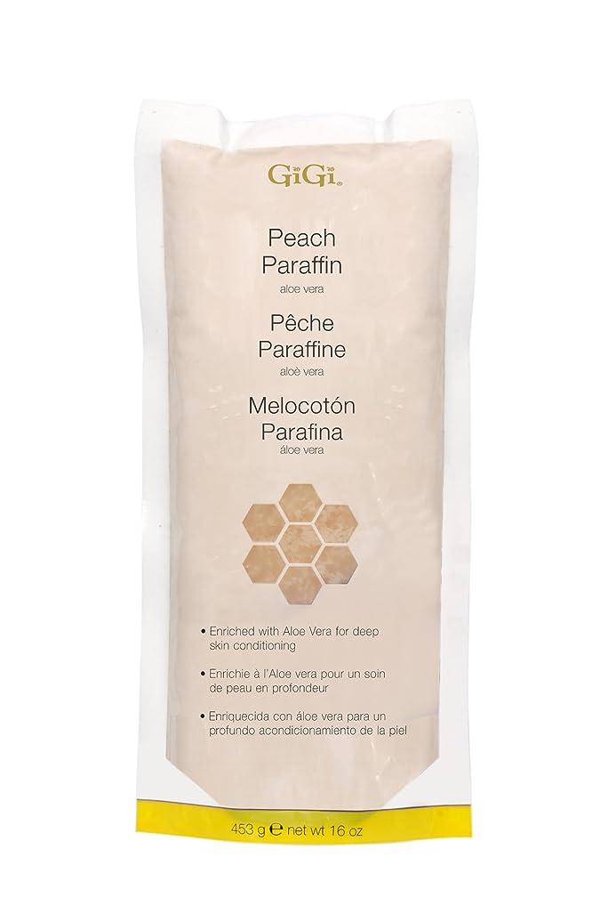 評価キャッシュもっと少なくGiGi Peach Paraffin Wax 453g by Gigi