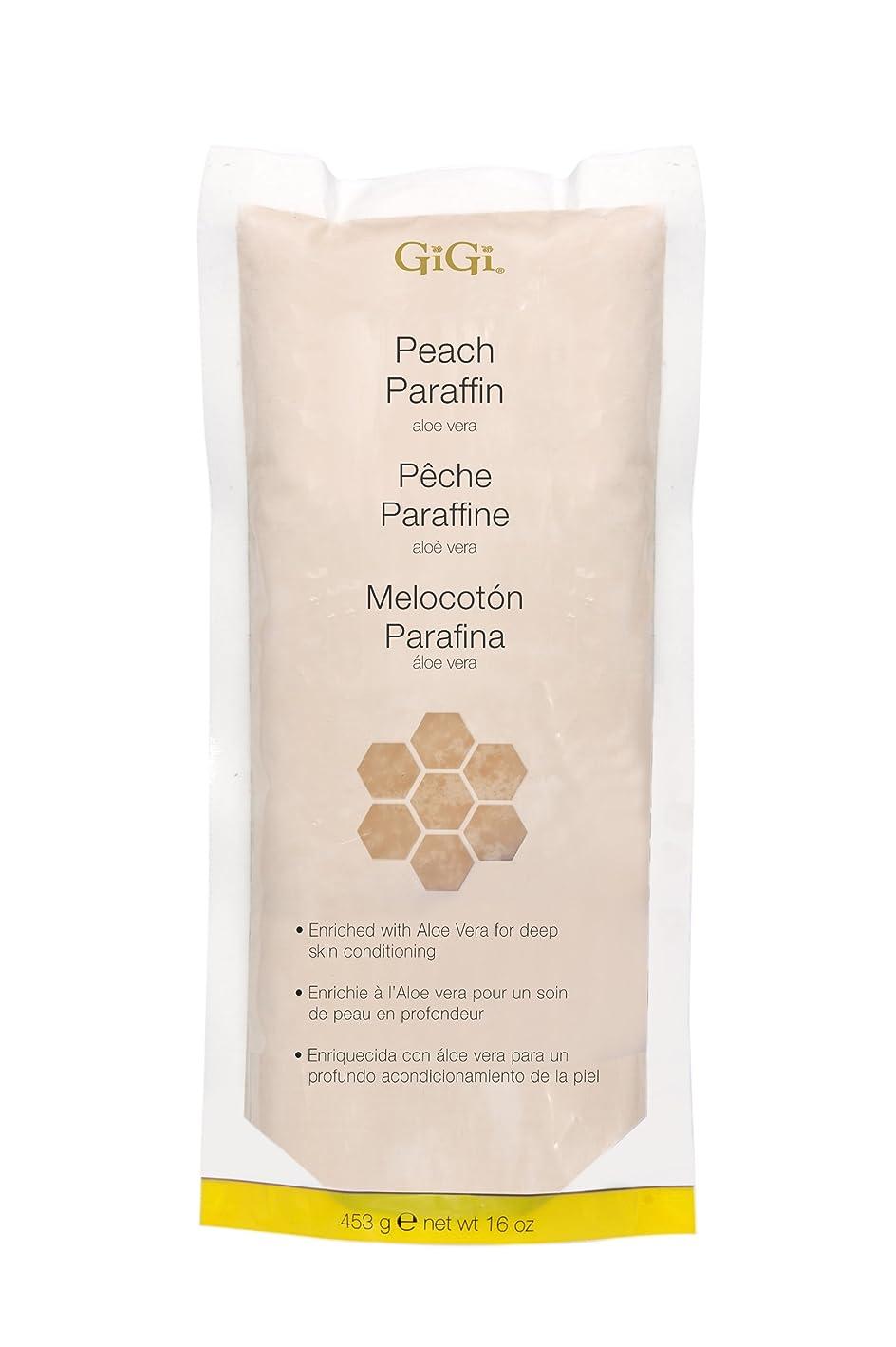 カメラ重くする堤防GiGi Peach Paraffin Wax 453g by Gigi
