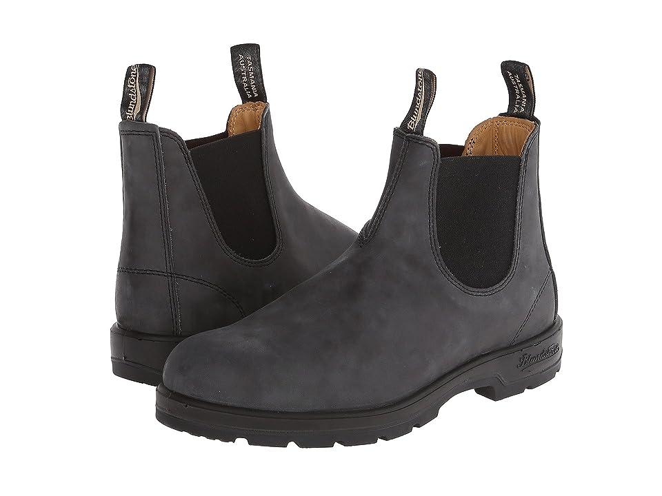 Blundstone 587 (Rustic Black) Work Boots