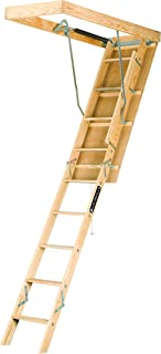 Louisville Ladder S254P 25.5X54X105 Wd ATC Stair, 7-Feet to 8-3/4-Feet