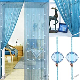 Best blue beaded curtains Reviews