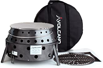 Volcano Grills 2 Fuel Charcoal & Wood Collapsible Stove