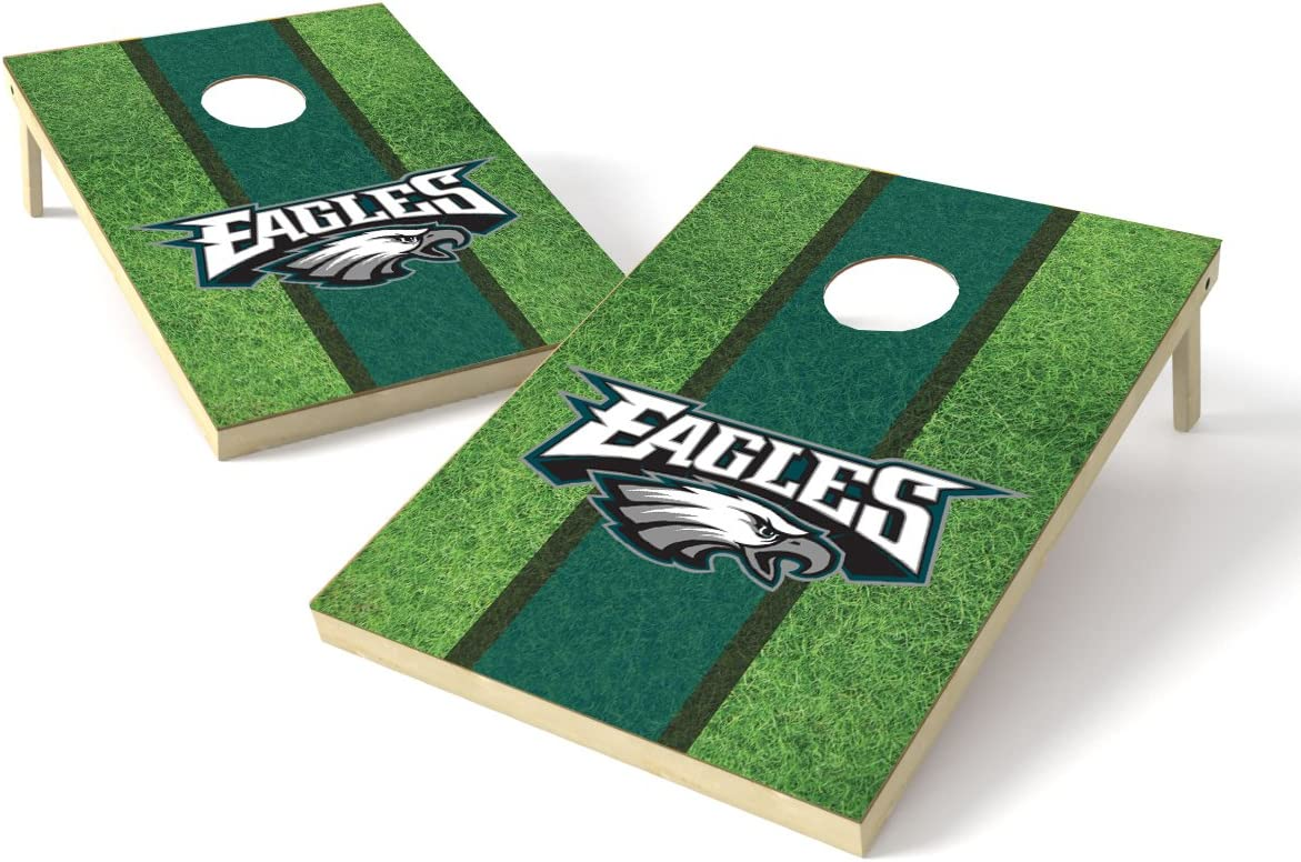 PROLINE 2'x3' Special price for a limited time NFL 55% OFF Cornhole Field Set Design -