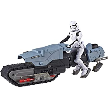 Star Wars The Rise of Skywalker Figura de acción Conductor de la Primera Orden y Treadspeeder