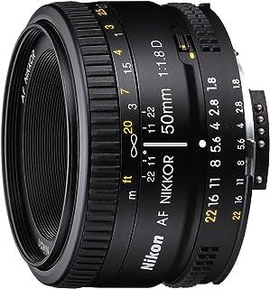 Nikon 50mm f/1.8D AF NIKKOR Negro - Objetivo (6/5 Negro 63 cm 52 cm 39 cm 160 g)