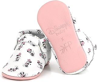 Freshly Picked - Soft Sole Leather City Moccasins - Disney Baby Girl Boy Shoes - Infant Sizes 1-5