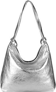 OBC Damen Tasche Rucksack 2 in 1 Umhängetasche Schultertasche Umhängetasche Daypack Leder Rucksacktasche Shopper Backpack ...