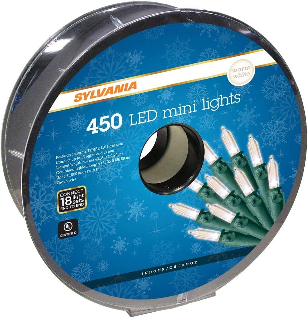Max 56% OFF SYLVANIA Brand new LED Christmas Lights Warm White