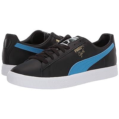 PUMA Clyde Core (Puma Black/Indigo Bunting/Puma White) Shoes