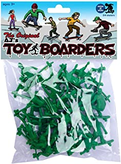 Mindtwister USA AJ's Toy Boarders Skate Series 2 Action Figures, Original Green