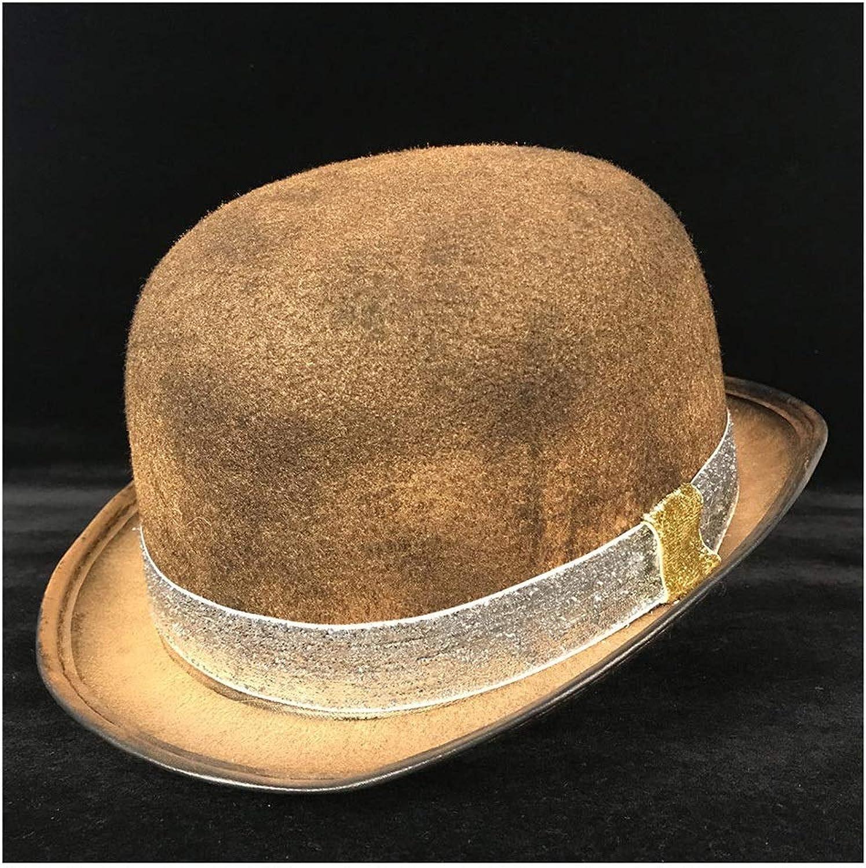Fashion Women's Men's Steampunk Dome, Cosplay Glasses Topper, Headdress Top Hat Luxury Fedora Creative