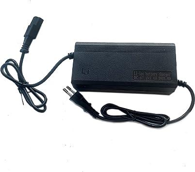 GOZAR 67.2V 2 Un Adaptador De Cargador De Batería para Scooter Eléctrico E-Bike Power Pc Plug