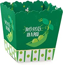 12 PAK Twins Two Peas in a Pod Baby Shower Candy Cookie Party Favor Bags  5x7  Girls Boys or Boy /& Girl Options  PERSONALIZED 3 DayShip