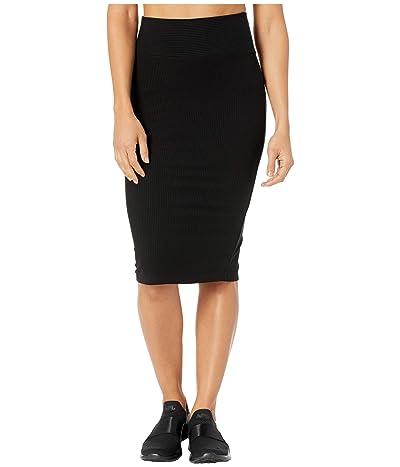 YEAR OF OURS Rib Saturday Skirt (Black) Women