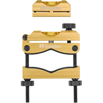 Wheeler Engineering Professional Reticle Leveling System with Heavy-Duty Construction, Universal Design and Storage Case for Gunsmithing and Maintenance