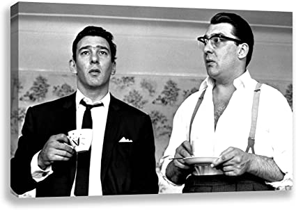 Canvas Pictures The Kray Twins Ronnie And Reggie British Gangsters Poster