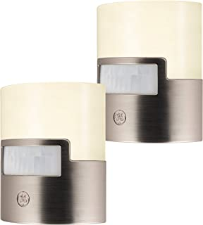 GE Enbrighten LED Night Light, Motion Sensor, 2 Pack, Plug-in, 40 Lumens, Soft White, UL..