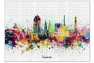 artboxONE Ravensburger-Puzzle XL (1000 Teile) Städte Bremen