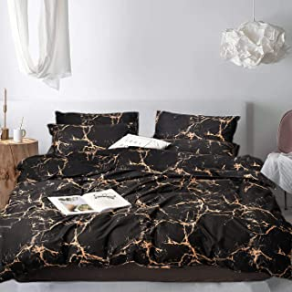 Best rose gold and black comforter Reviews