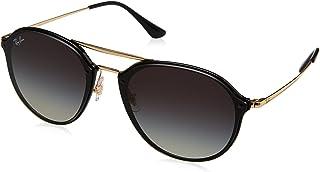 Ray-Ban Women's Blaze Flat Lens Aviator Sunglasses