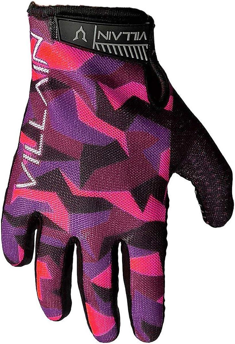 VILLAIN Gauntlet Riding Gloves Biker Sales for sale Grippy Breathable Manufacturer regenerated product