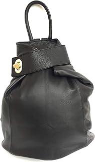 Superflybags Zaino Donna Daypack Vera Pelle Martellata Cinghie Regolabili modello SIRACUSA DO Made In Italy