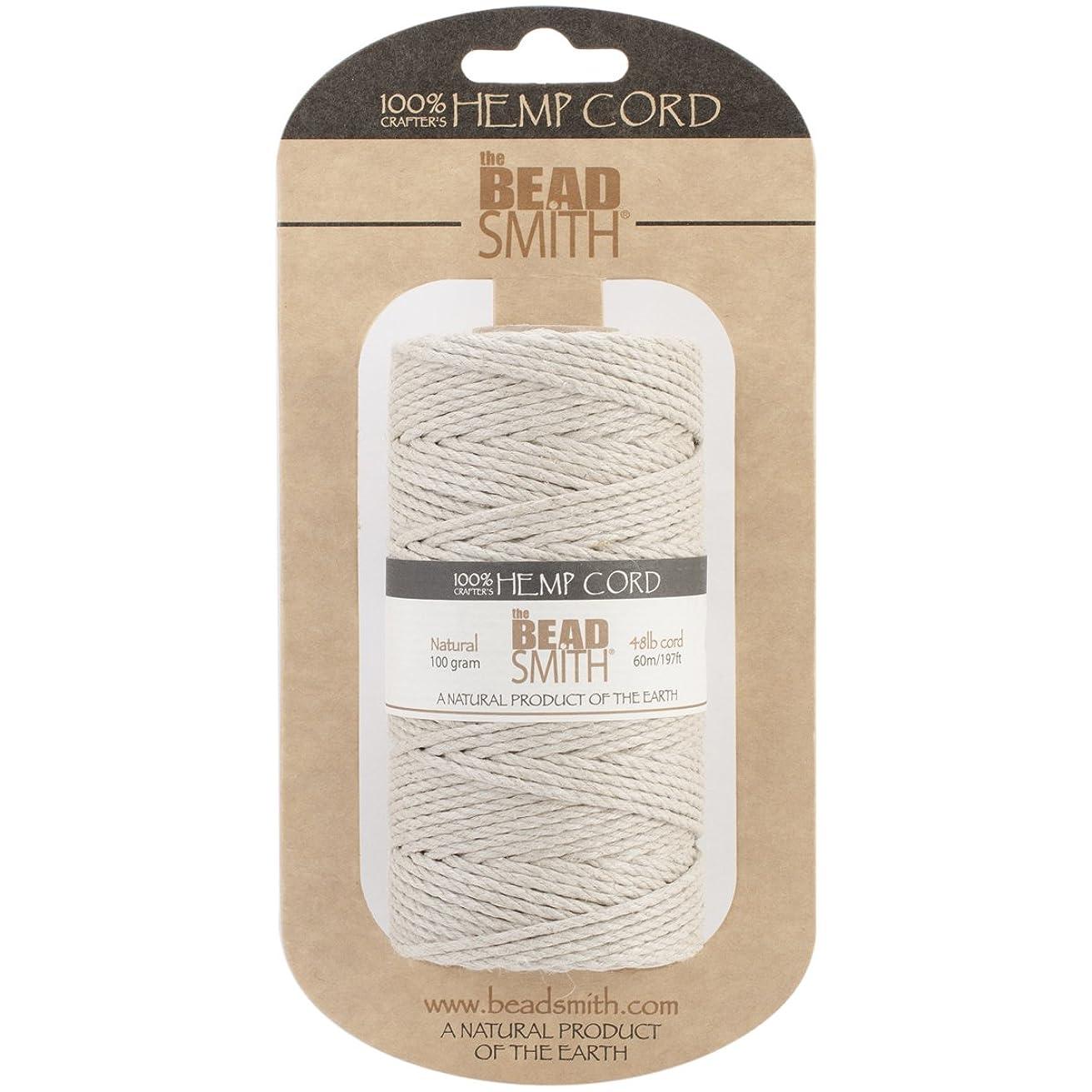 Beadsmith Hemp Cord, Natural